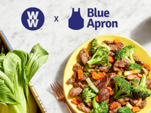 Blue Apron partners with Weight Watchers