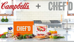 Campbell's Soup invests in Chef'd