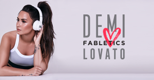 Demi Lovato Partners with Fabletics