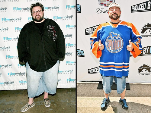 Kevin Smith Before and After Heart Attack