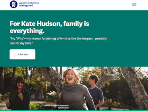 Kate Hudson joins Weight Watchers