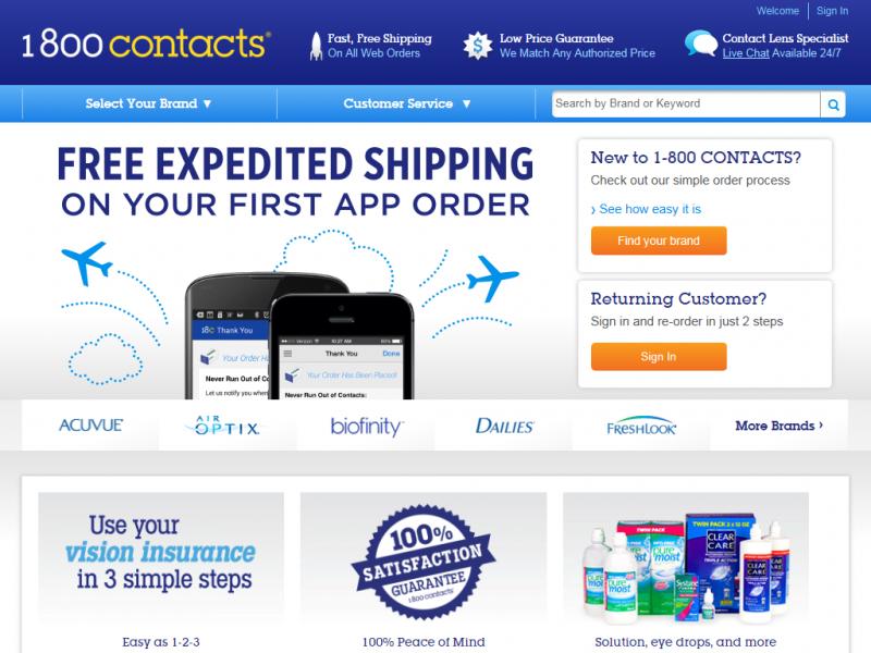 99e99e916e 1-800 Contacts - Review Chatter