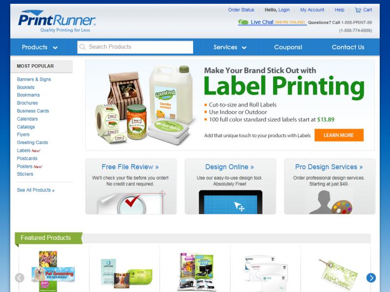 PrintRunner - Review Chatter