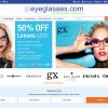 Eyeglasses.com Home Page