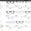 Searching for frames on GlassesUSA