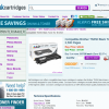 A product page from InkCartridges.com for a toner cartridge.