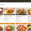 Home Chef menu page.