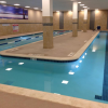 A typical lap pool at 24 Hour Fitness.