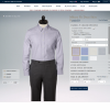 Design a custom dress shirt at Brooks Brothers.