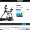 ProForm Pro 2000 Treadmill Home Page