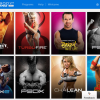 Beachbody On Demand list of programs.
