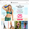 Fabletics Home Page