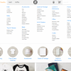Zazzle available product create options.