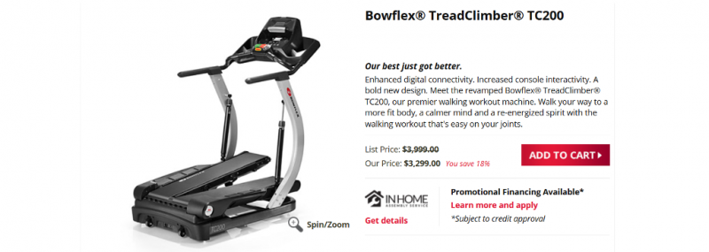 Bowflex Treadclimber Tc200 Review Chatter