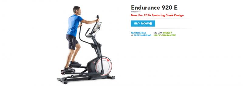 Proform Endurance 920 E Elliptical