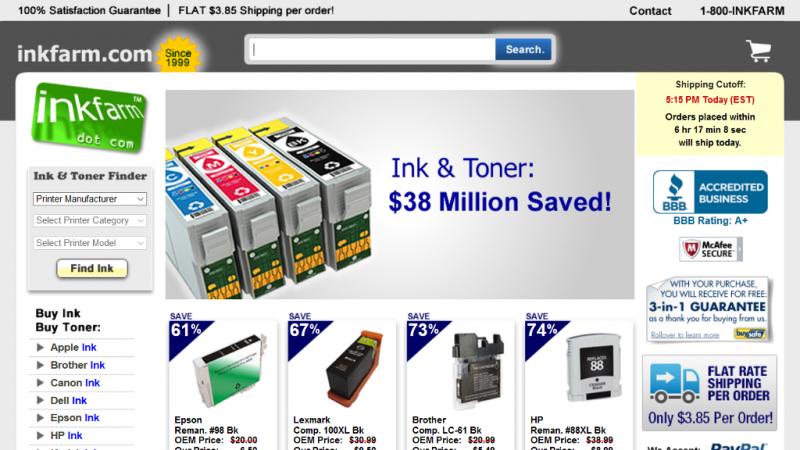 InkFarm.com Cover