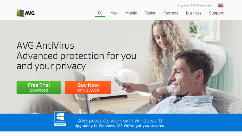 AVG AntiVirus Cover