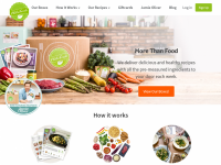 HelloFresh Home Page