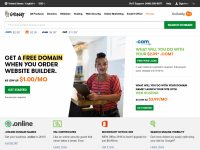 GoDaddy Home Page