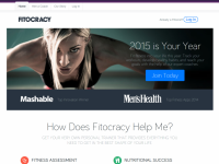 Fitocracy Home Page