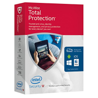 McAfee Total Protection Box