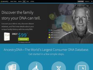 AncestryDNA Home Page