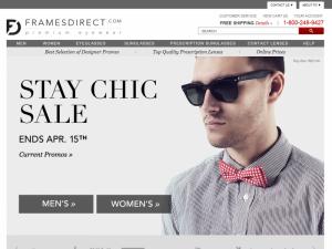 FramesDirect.com Home Page