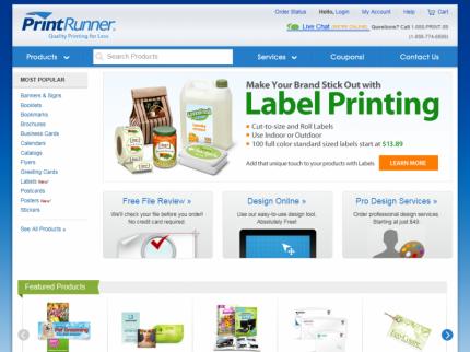 PrintRunner Home Page