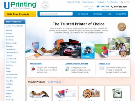 UPrinting Home Page